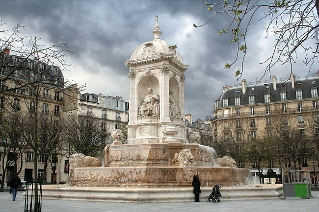 Saint-Sulpice fountain