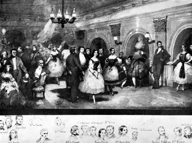 Eigene Lami, Le Foyer de la Dance, Salle Le Peletier, 1841