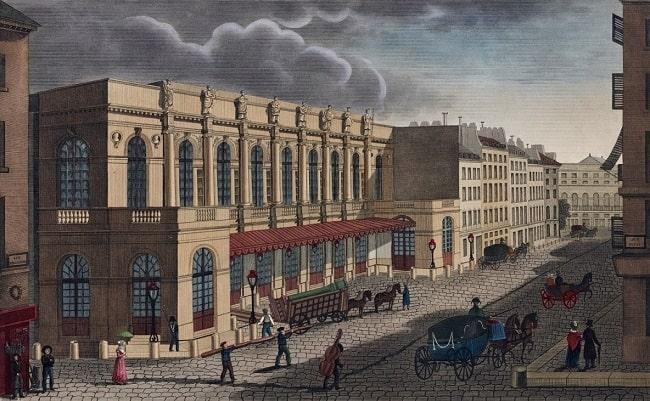 Théâtre de l'Académie royale de Musique. c 1821.