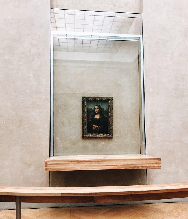 The Mona Lisa, Louvre, Paris