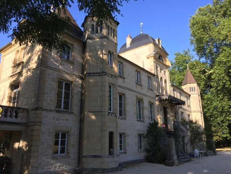 Burgundy chateau for sale