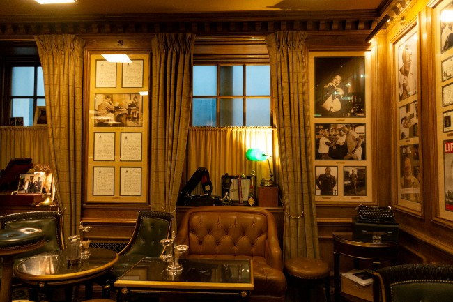 Backstairs at The Ritz Paris