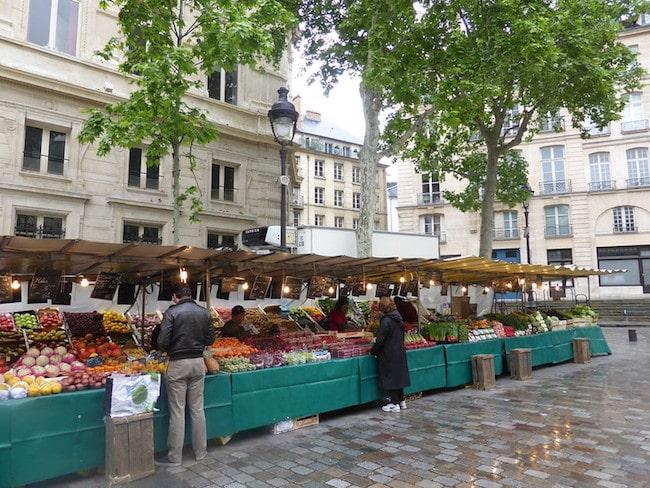 Marché Lecourbe, A Paris Memory