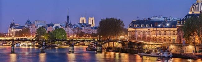 Panoramic Paris, île de la Cité , Pont Neuf, Pont des Arts