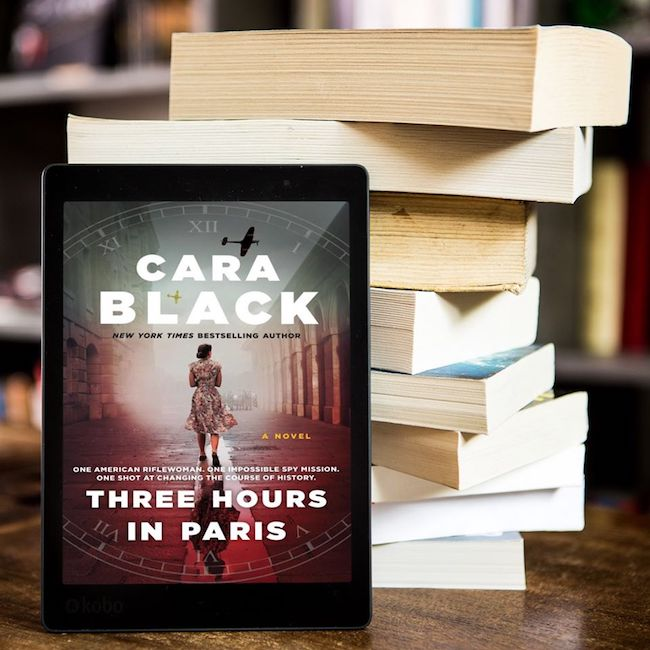 Book Review: Three Hours in Paris by Cara Black