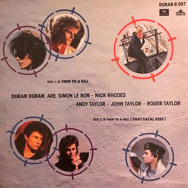 Duran Duran: A View To A Kill,