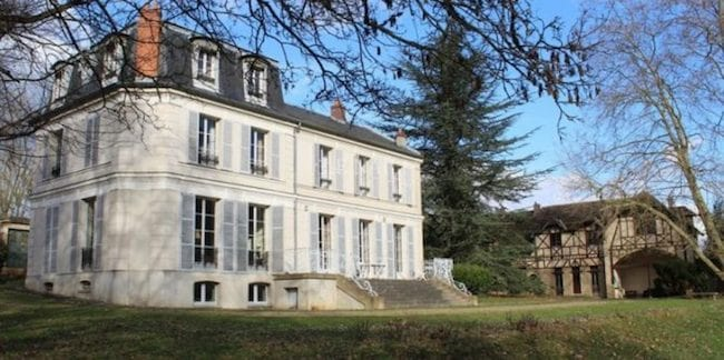 For Sale: Charming Mansion on the River Seine outside Paris
