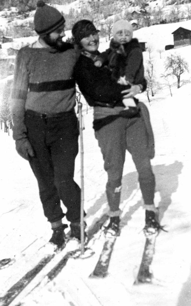 Ernest and Hadley Hemingway, Austria