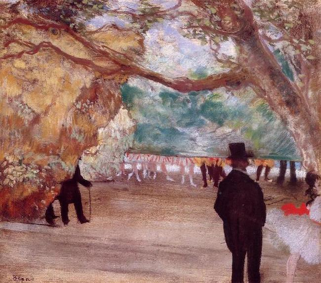 Edgar Degas, The Curtain