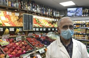 Paris grocery store