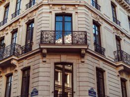 The Monsieur George Hotel in Paris...