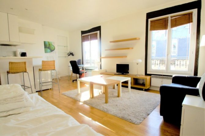 For Sale: Top Floor Paris Apartment in the 5th