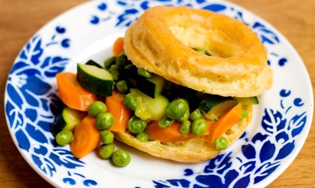 Recipes: Savory Choux Puffs with Glazed Summer Vegetables
