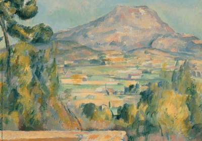 CEZANNE AND THE MASTER PAINTERS A DREAM OF ITALY, Paris exhibition