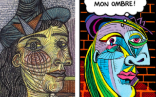Picasso and the Comics at the Musée National Picasso