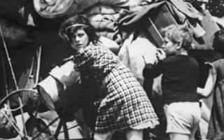 The Exodus of the Parisians in 1940