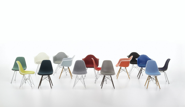 Vitra Pop-Up Store at BHV Marais: Customize Your Own Eames Plastic Chair