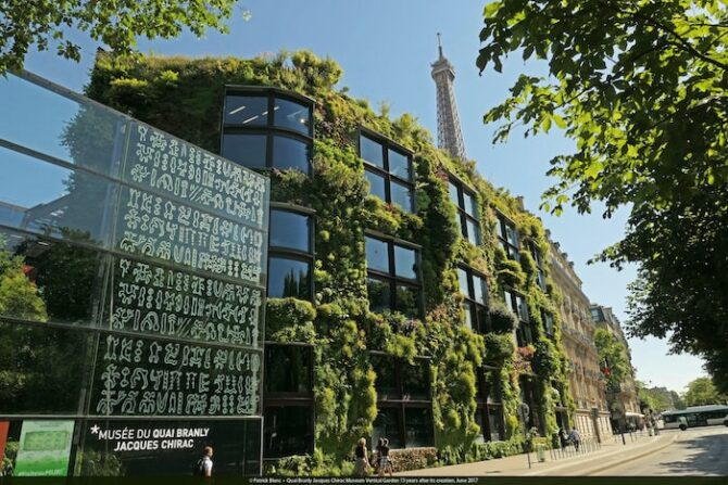 Renowned Paris Botanist Grows Up: The Vertical Gardens of Patrick Blanc
