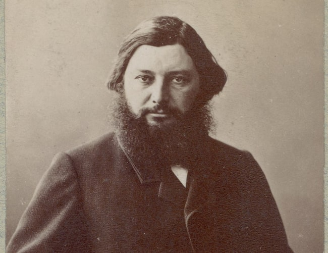 Portrait of Gustave Courbet