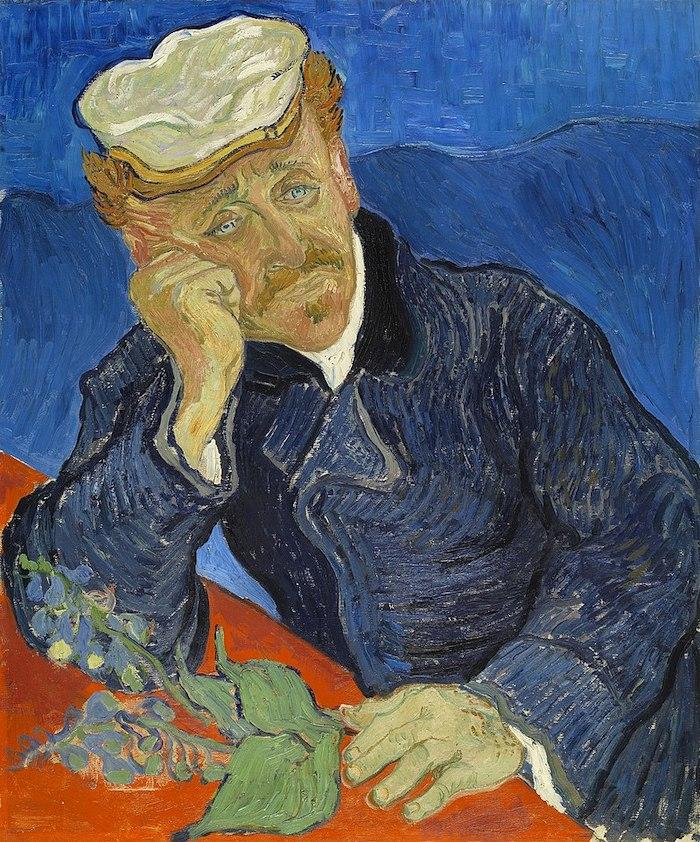 Vincent van Gogh, Portrait of Dr. Paul Gachet