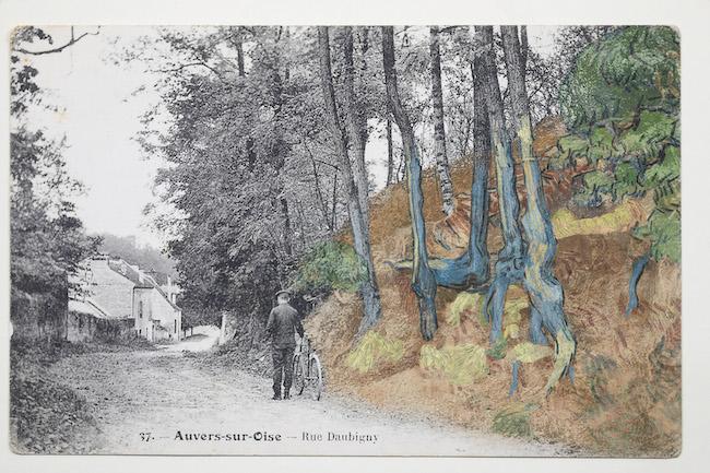 Postcard, c. 1900-10, found by Wouter van der Veen