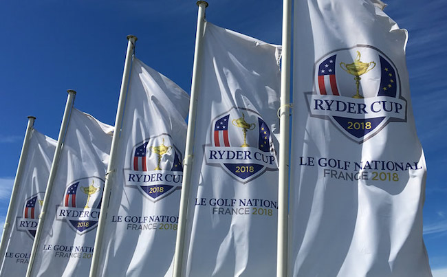 The Ryder Cup is in France! Get your Tiger Woods Tie