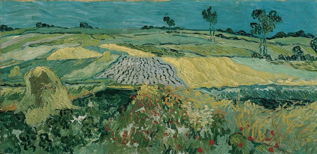 Vincent van Gogh, The Plain of Auvers or Wheatfields of Auvers,