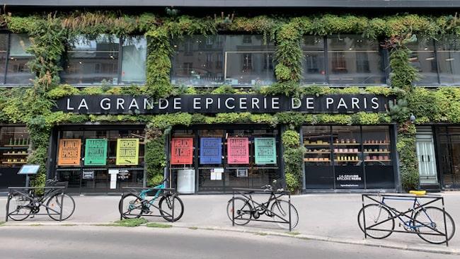 La Grande Épicerie Rive Droit.