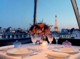 Dining in Paris at L'Oiseau Blanc...