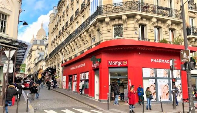 Do you know the Parisian cosmetic temple Parapharmacy Monge?