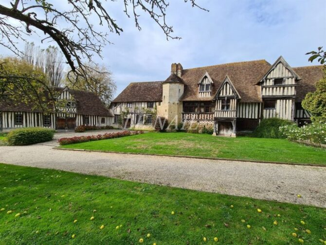 For Sale: 9-Bedroom Manor House near Deauville