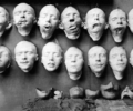 Jane Poupelet, Masks from the Studio for Portrait Masks 1918