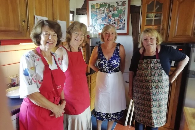 The Paris Cook Club in Normandy