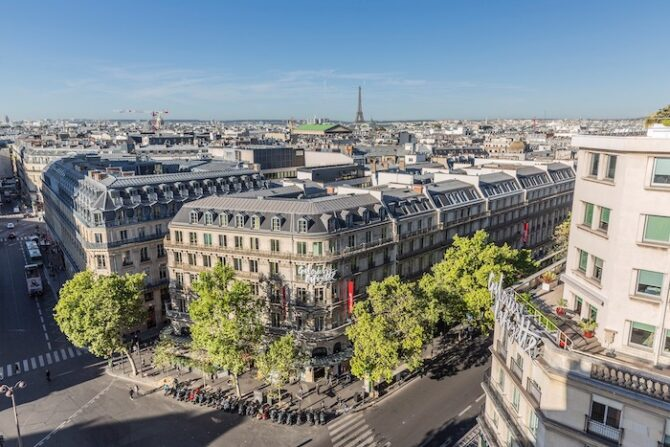Remote Paris Shopping: Tax-Free Goodies at Galeries Lafayette