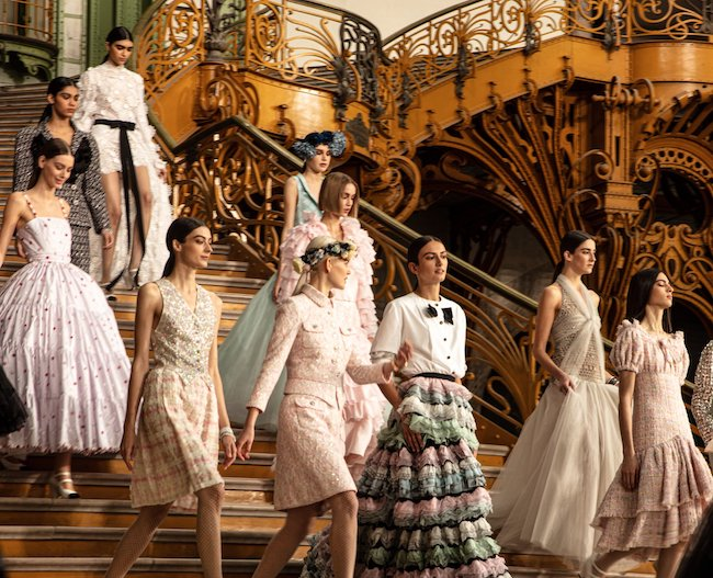 Without Audiences, Haute Couture Fashion Week Still Turns Heads
