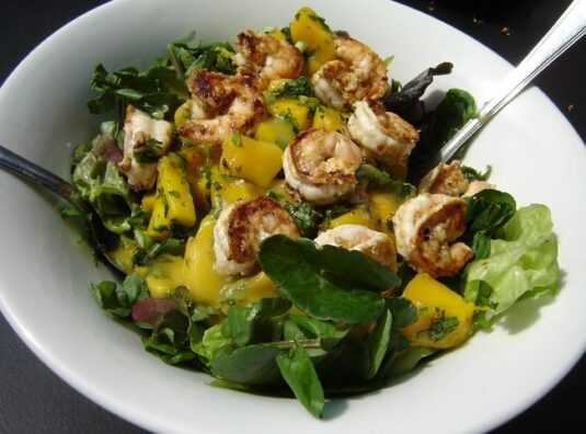 Recipe for Spring: Watercress Salad with Grilled S...
