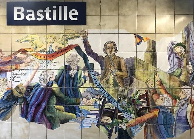 Metro Magic: Bastille, A Revolutionary Station