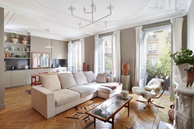 For Sale: Bright and Spacious 1-Bedroom Parisian Apartment