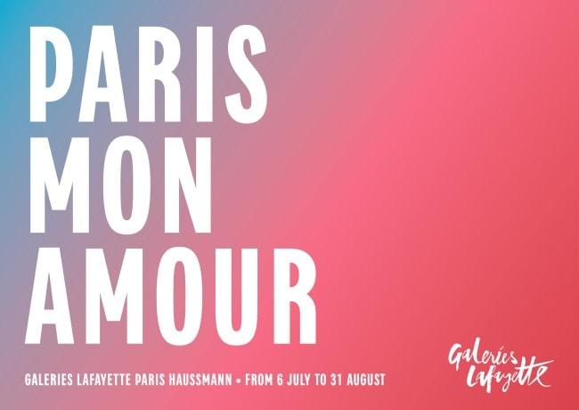 This Summer Galeries Lafayette Paris Haussmann Celebrates the City of Light