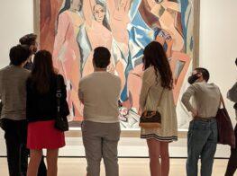 Picasso's Demoiselles d'Avignon: From Montmart...