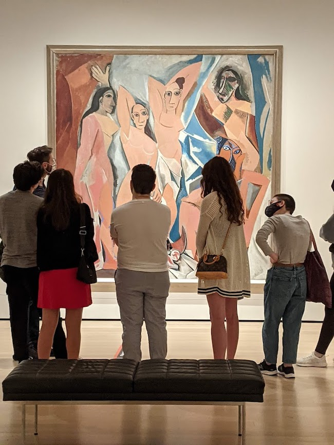 Picasso's Demoiselles d'Avignon: From Montmartre to MOMA