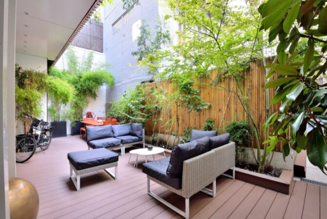 For Sale: Contemporary House in Paris with Outdoor Spaces