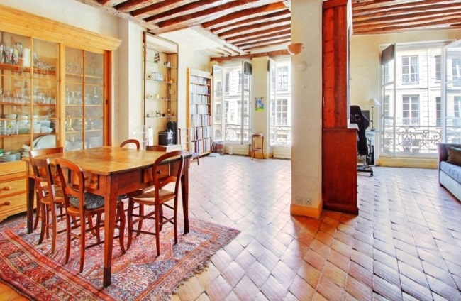 For Sale: Charming Two-Bed Apartment Full of Character