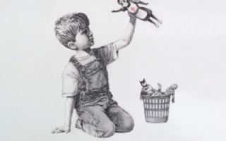 Banksy at the Espace Lafayette-Druouot
