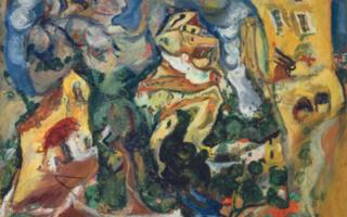 Soutine/ De Kooning at the Musée de l'Orangerie