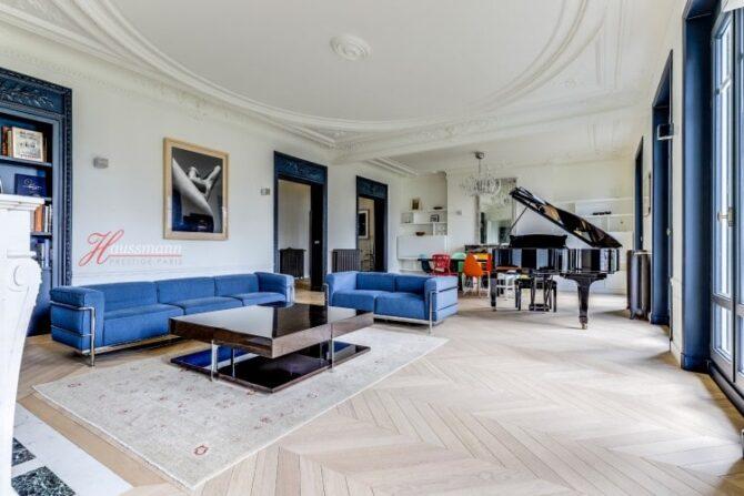 For Sale: Gorgeous Architect's Apartment on the Avenue de Wagram