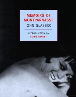 Book Cover, Memoirs of Montparnasse by John Glassco. Photo: New York Review of Books, 2007.