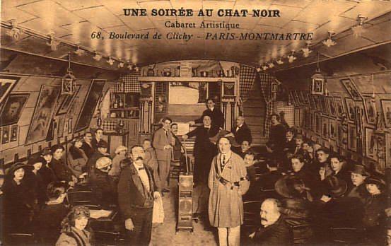Soirée at Le Chat Noir