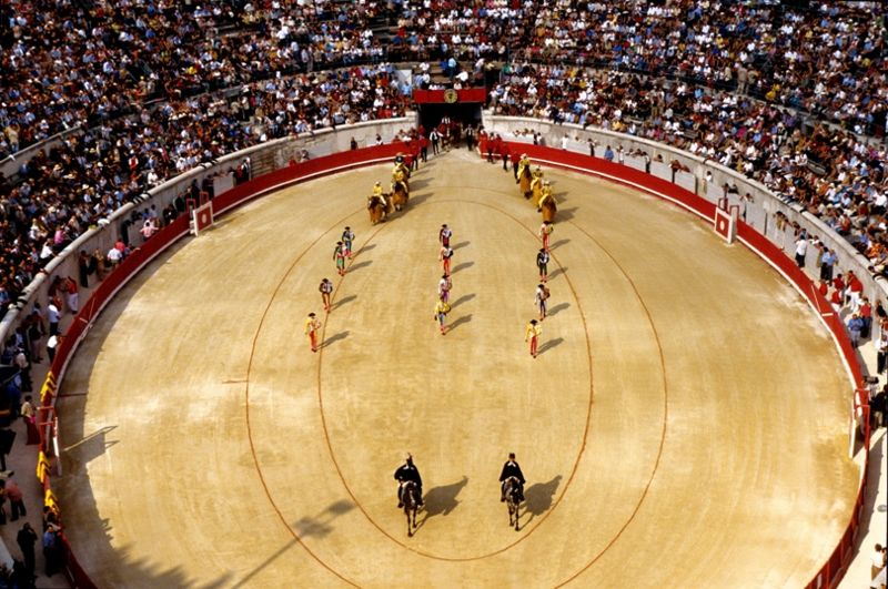 "Traditional Corridas ""photo courtesy of Wikipedia Commons"""