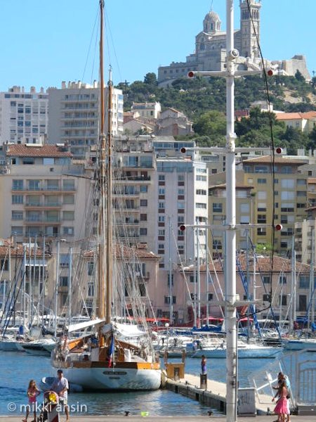 Vieux Port in Marseille. Photo: ©Mikki Ansin